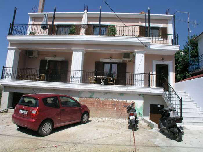 Dokos Apartments Parga Greece The exterior
