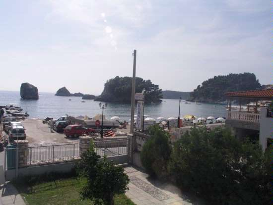 Bakagiannis Apartments Parga Greece View from the first floor Studio.