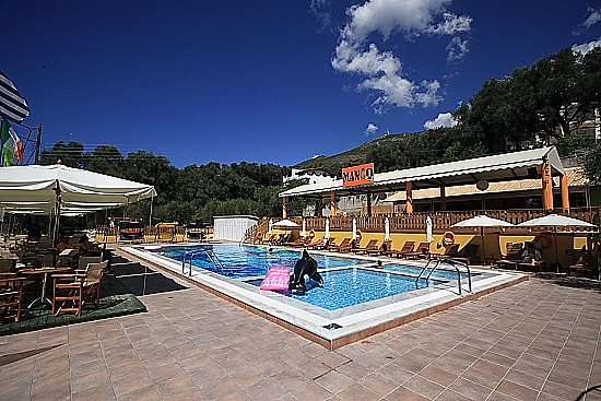 VILLA MARIANNA Parga Greece The pool with snack bar